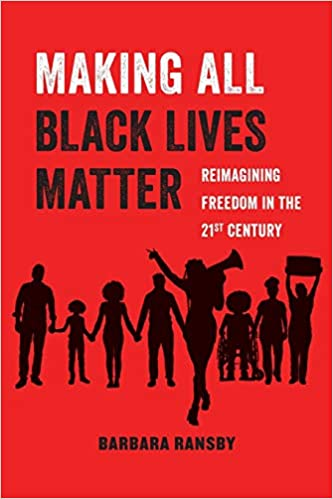 Making all lives matter red white and black cover art