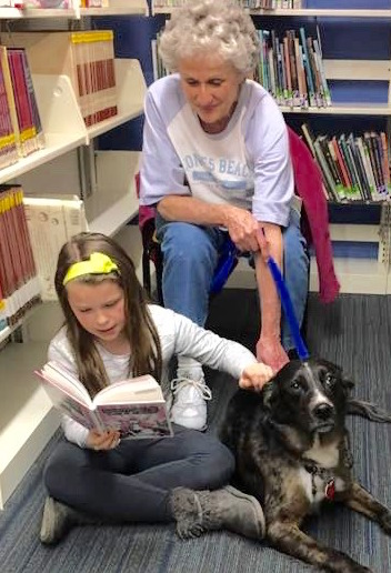 Read to a Dog, ages 5+