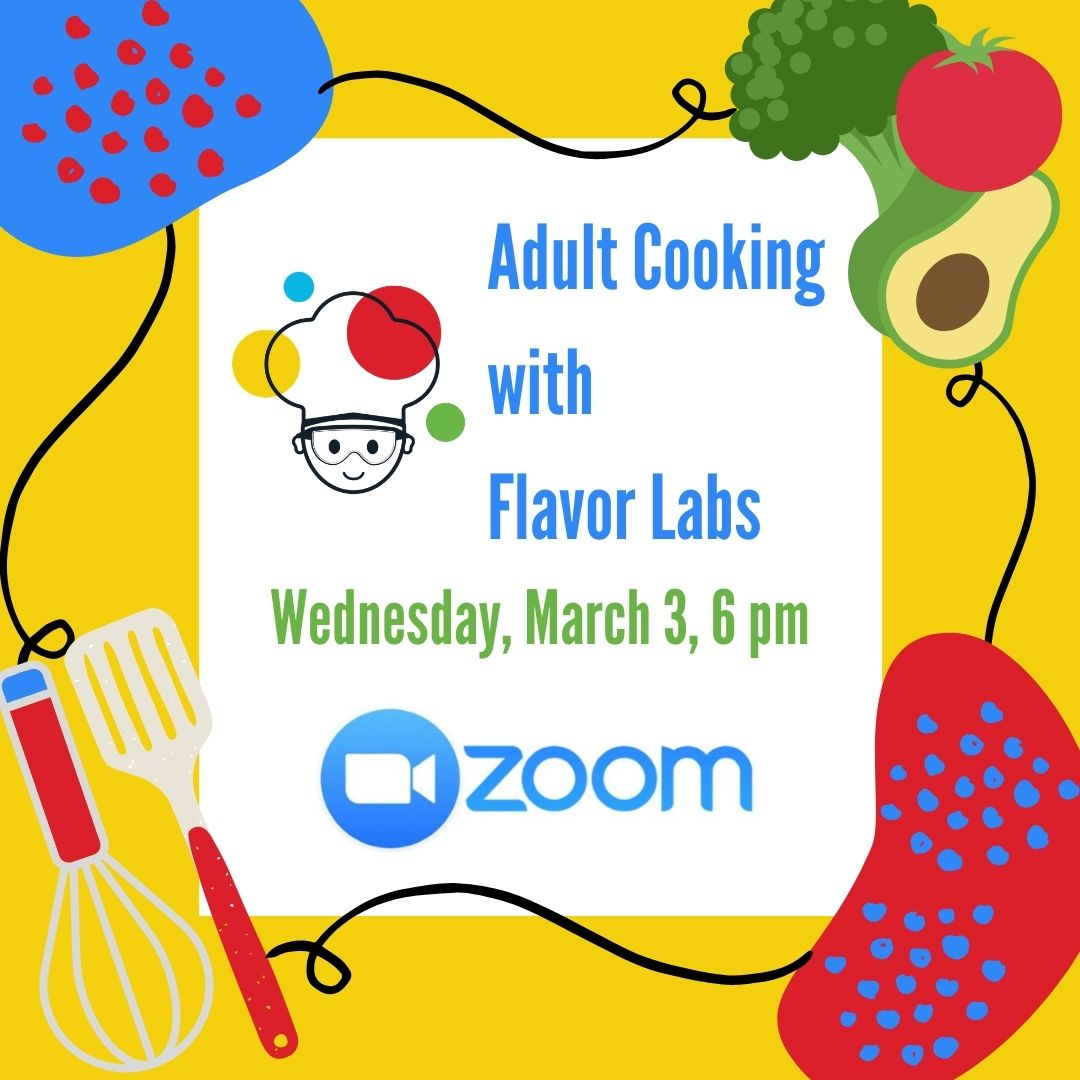 Cooking with Flavor Labs, adults