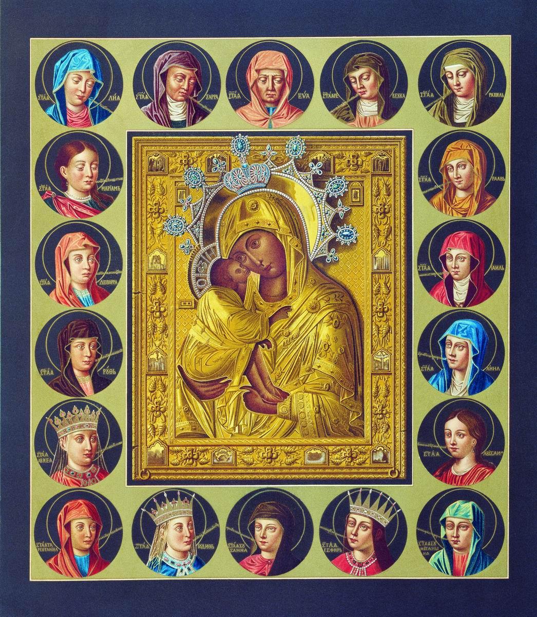 https://commons.wikimedia.org/wiki/File:Drevnosti_RG_v1_ill018a_-_Eleusa_with_Old_Testament_women.jpg
