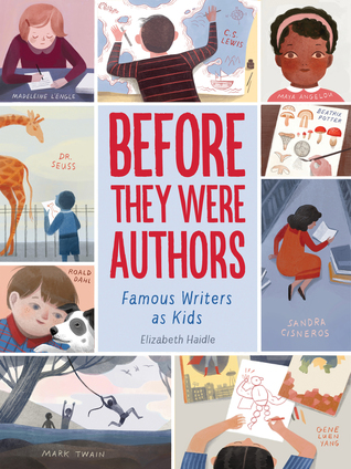 Before They Were Authors book cover
