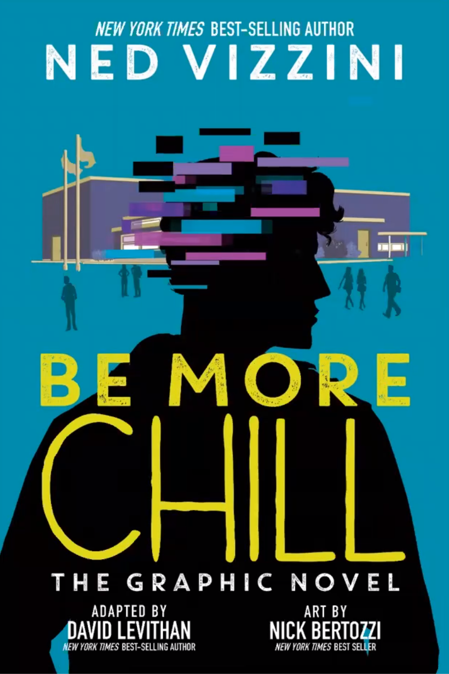 Be More Chill the Graphic Novel book cover