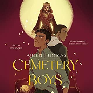 Cemetery Boys audiobook cover