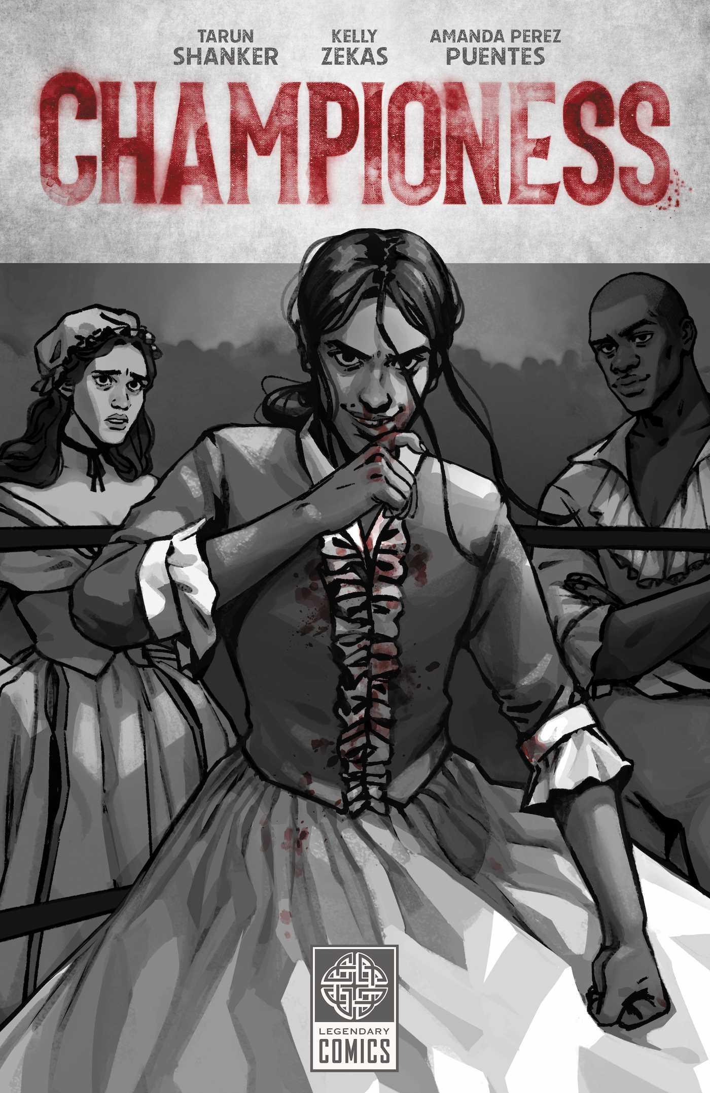 championess book cover