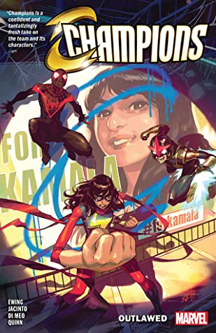 Champions Vol 1: Outlawed book cover