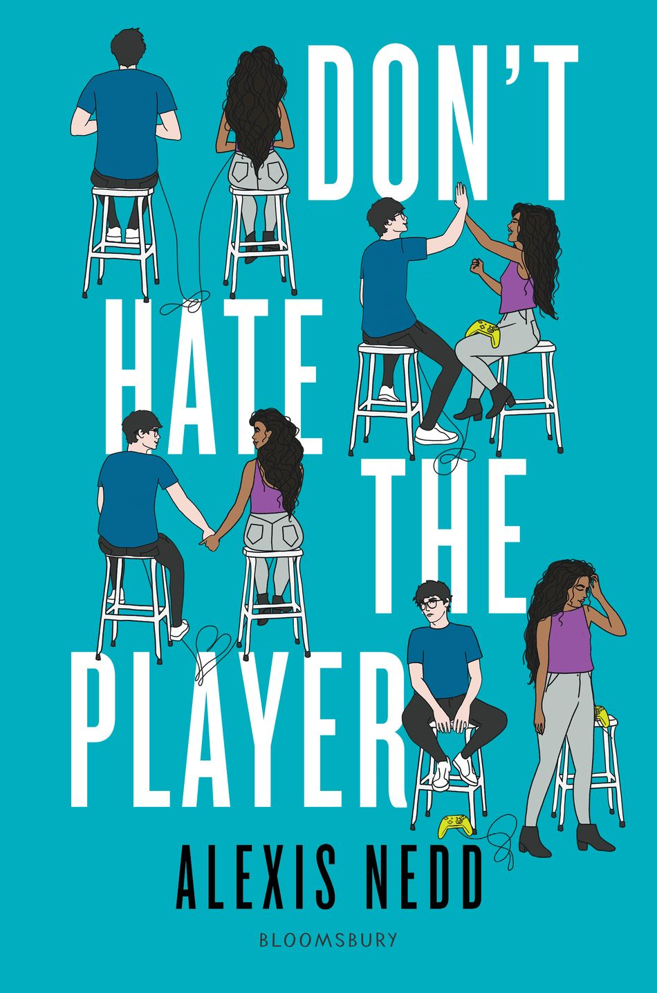 Don't Hate the Player book cover