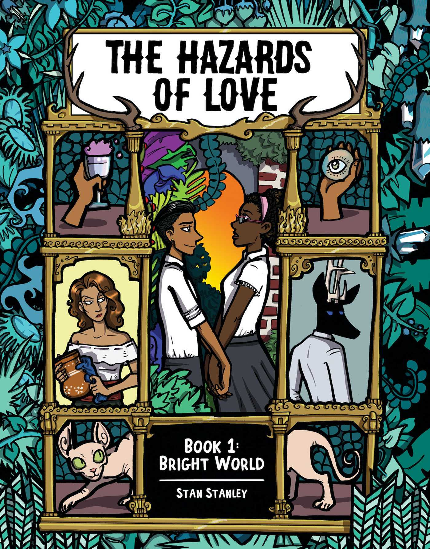 The Hazards of Love Vol 1 book cover
