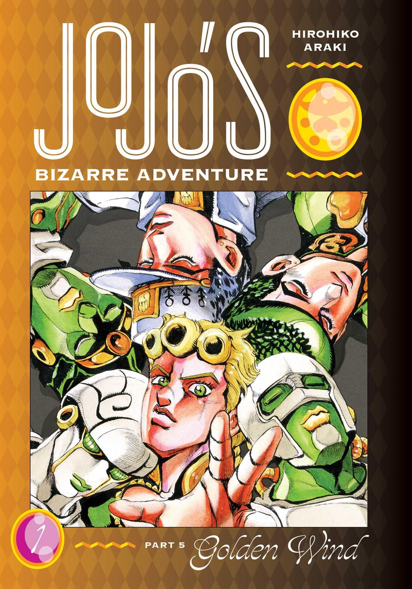 JoJo's Bizarre Adventure Part 5 Golden Wind Vol 1 book cover