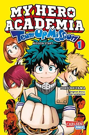 My Hero Academia Hero Team Up Volume 1 book cover