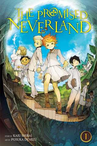 The Promised Neverland Vol 1 book cover