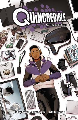 Quincredible Vol 1 book cover