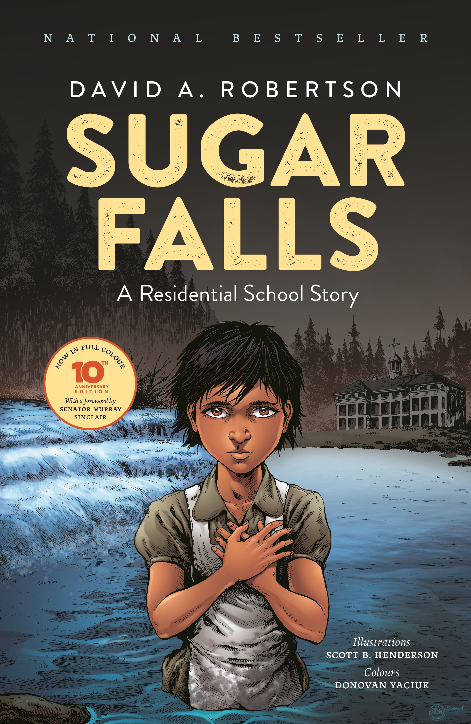 Sugar Falls: A residential school story book cover