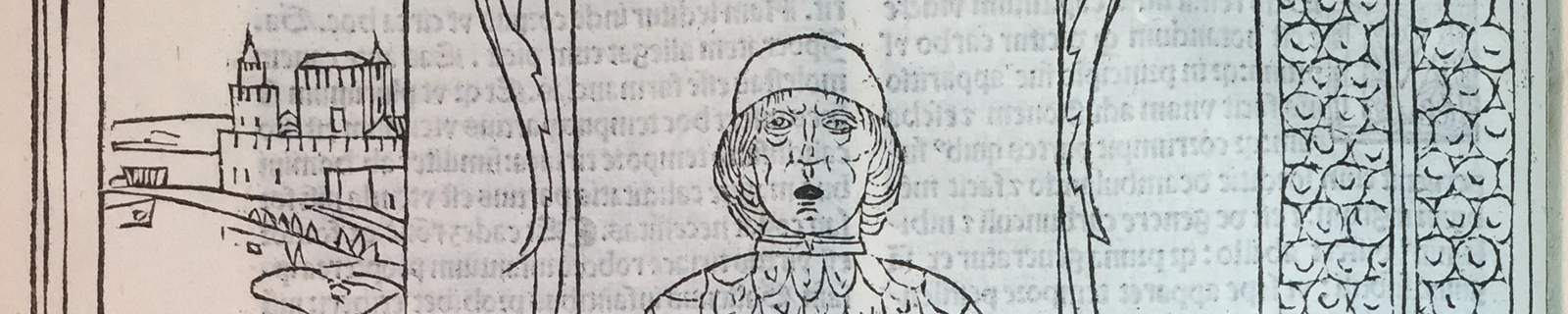 Lector from the Fasciculus Medicinae of Johannes Ketham, Pol Collection, 1491