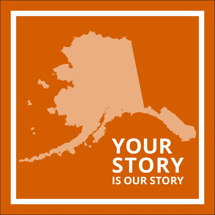 Your Story Logo in orange