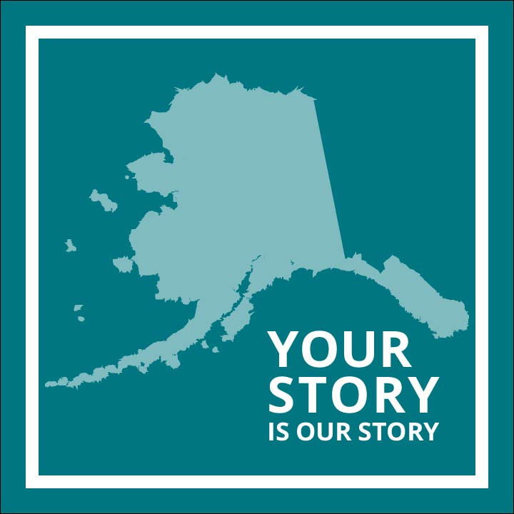 Your Story Logo in teal