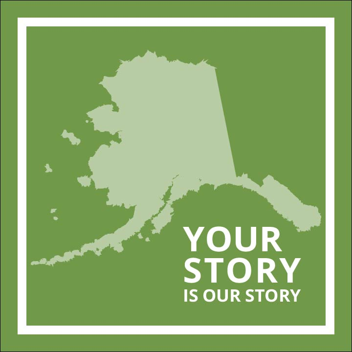 Your Story Logo in green