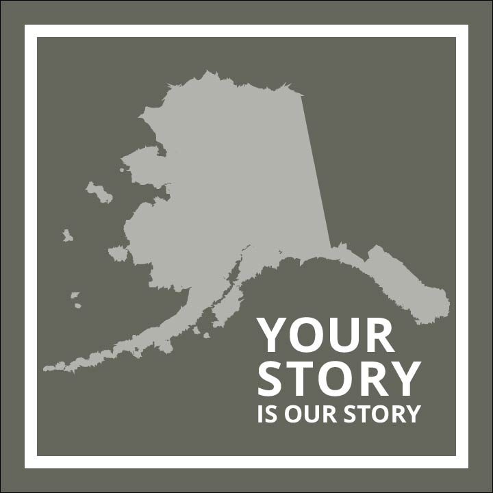 Your Story Logo in gray