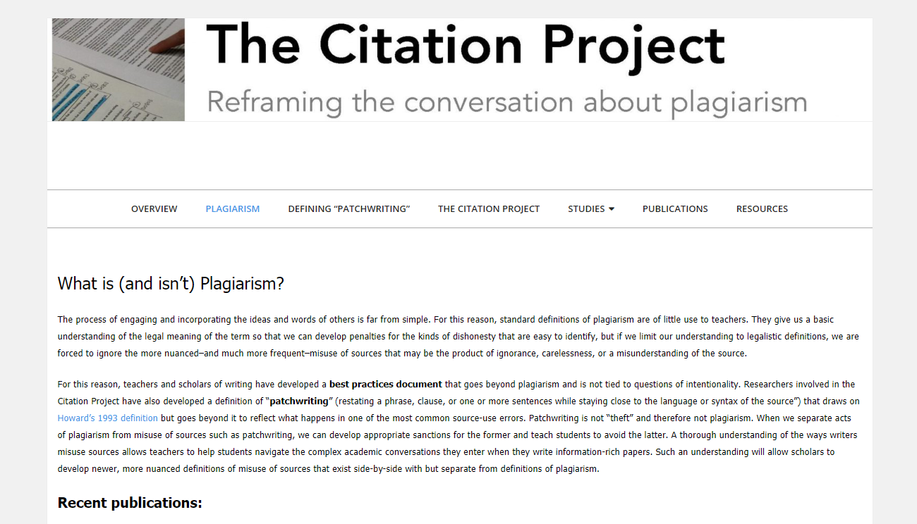 The Citation Project