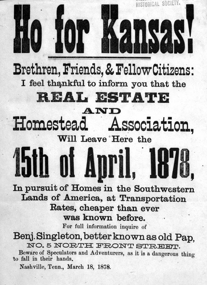 Broadside distributed by Benjamin Singleton