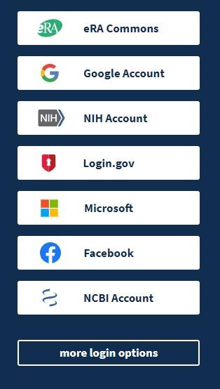 NCBI login