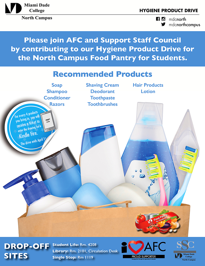Drive for Hygiene Products flyer