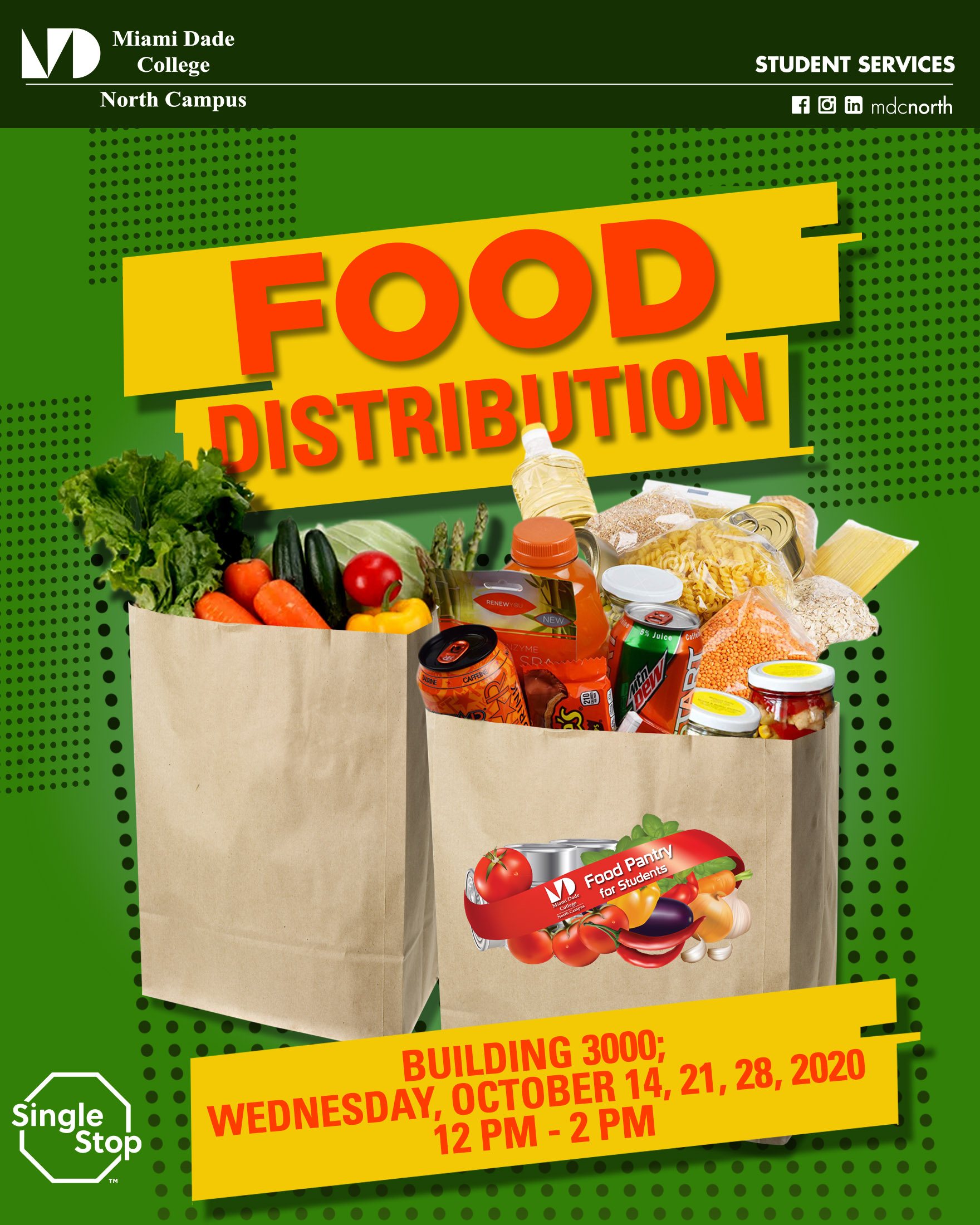 Food Pantry Distributions - North Campus