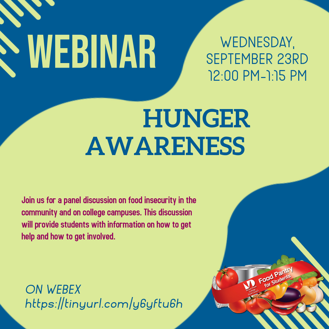 Hunger Awareness Panel