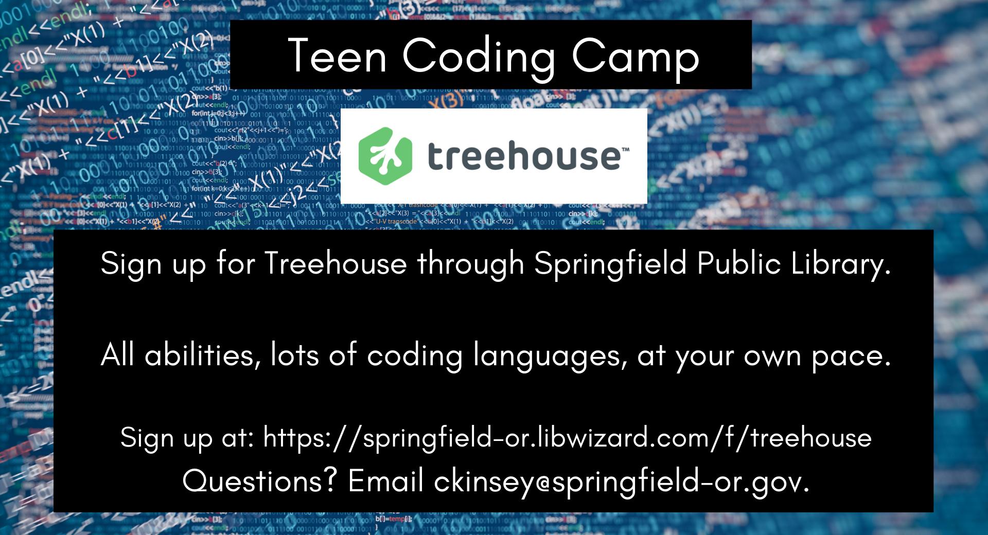 Teen Coding Camp