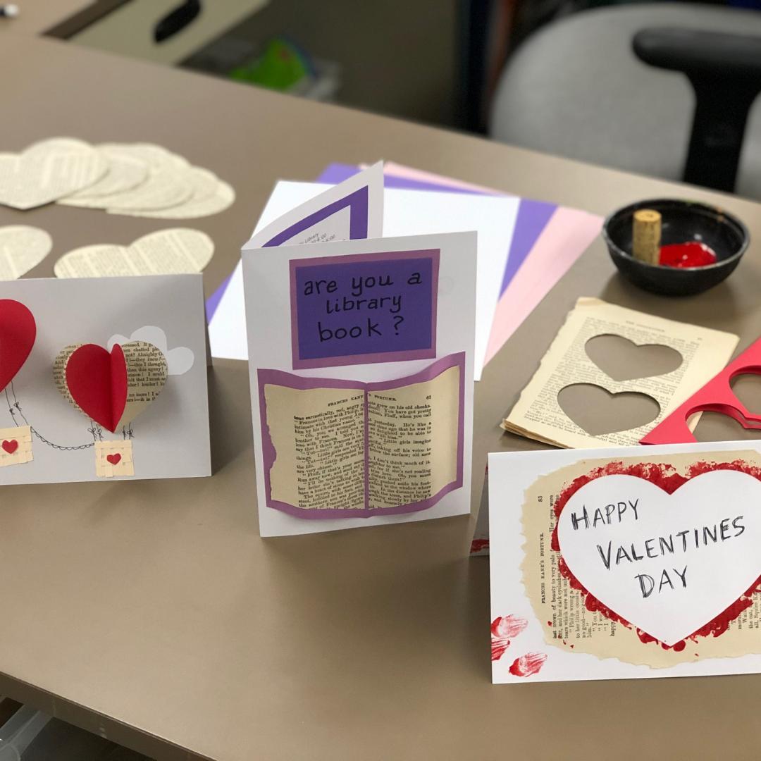 Springstitch Valentines Cards
