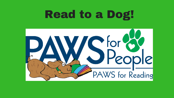 PAWS for Reading on the Porch