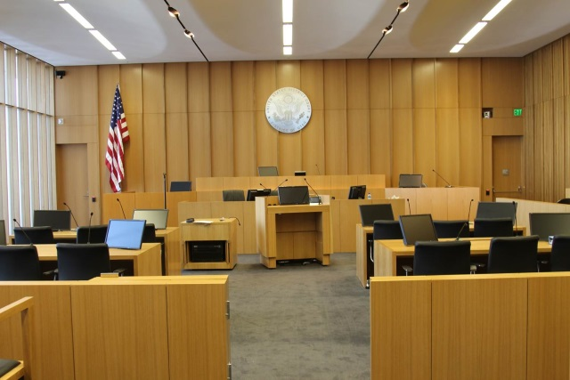 Courtroom at the United States District Court for the District of Utah
