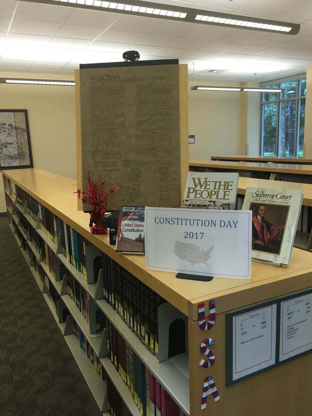 Constitution Day Display 2017