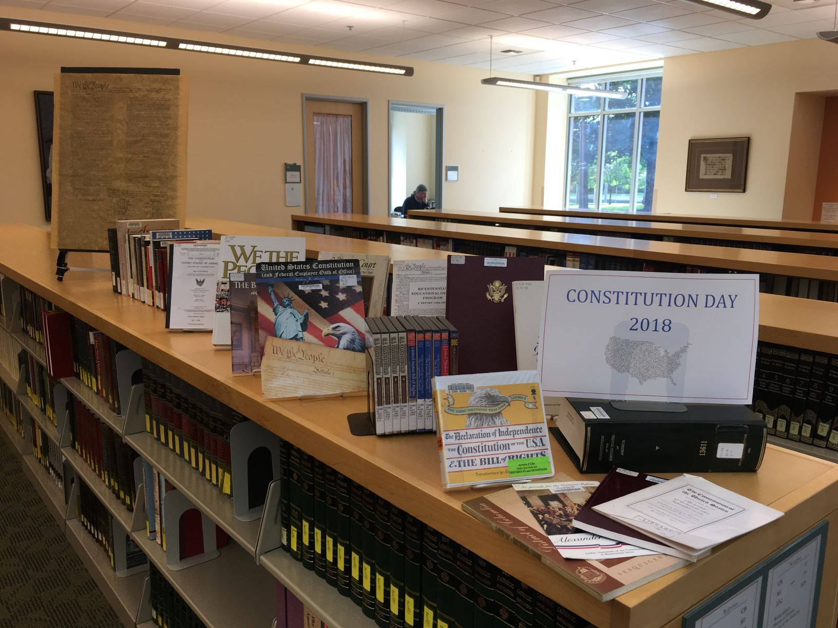 Constitution Day 2018 Display
