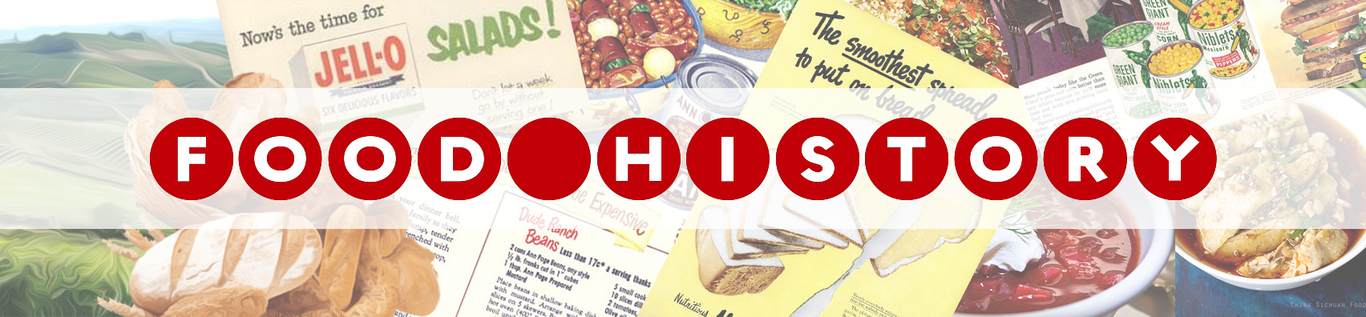 Food History Banner