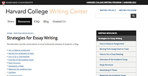 Harvard Writing Center
