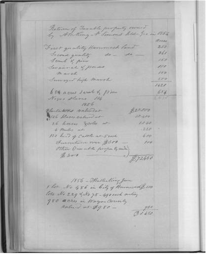 Ann Matilda Page King Plantation Account Book