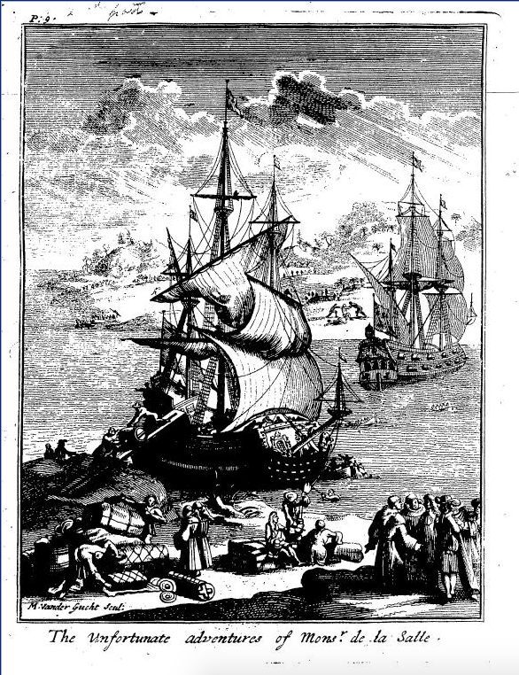 A new discovery of a vast country in America, extending above four thousand miles, between New France and New Mexico : with a description of the ... London, 1698. 535pp.