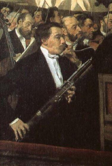 Degas: l'Orchestre de l'Opéra (1869)