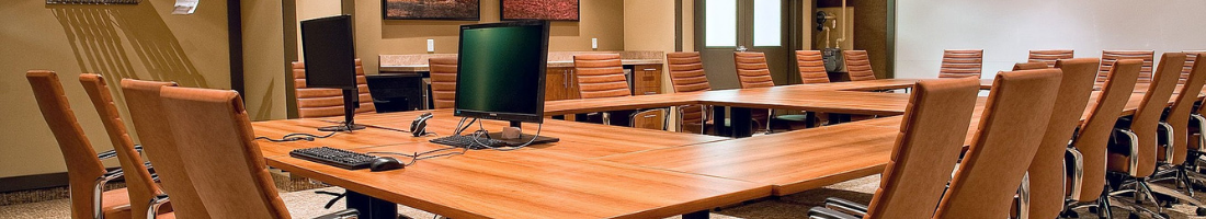 Picture of business conference room