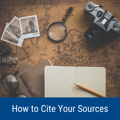 How to Cite Your Sources