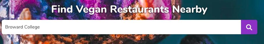 Happy Cow vegan restaurant finder