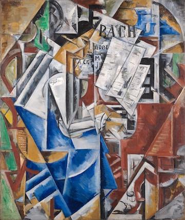 """At the Piano"" by Natalia Udalzova (1886-1961)"