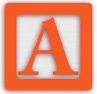 "Alphabet block letter ""A"""