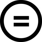 Creative Commons No Derivative (ND) License Symbol