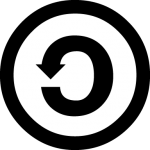 Creative Commons Share Alike (SA) License Symbol
