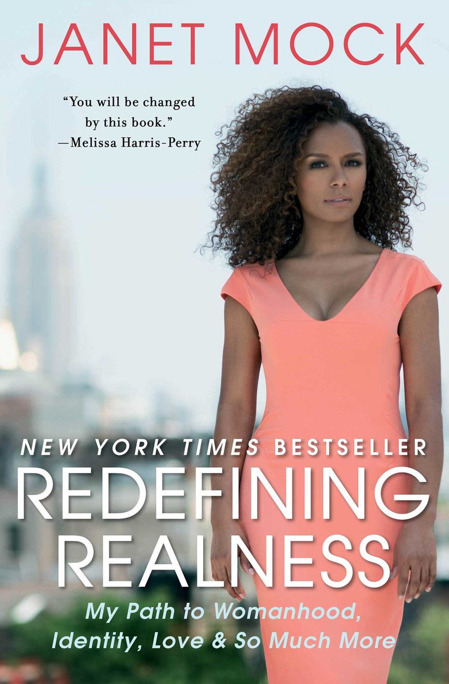 Book cover of redefining realness