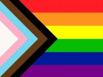 Black, Brown, Trans, LGBTQ+ Pride Flag