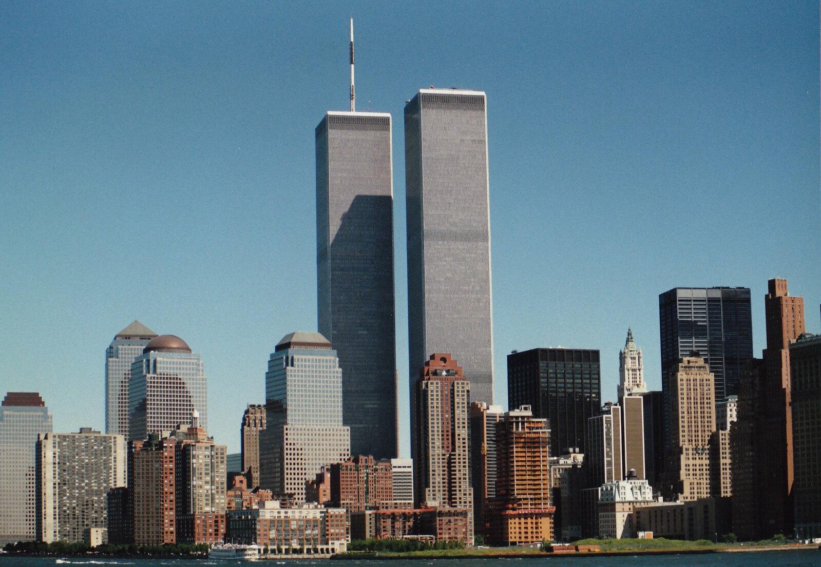 NYC Skyline September 1990