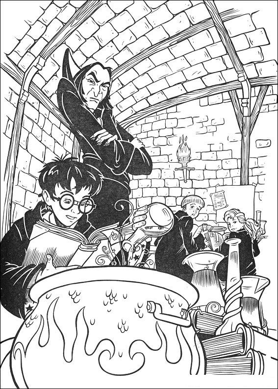 Harry & Snape