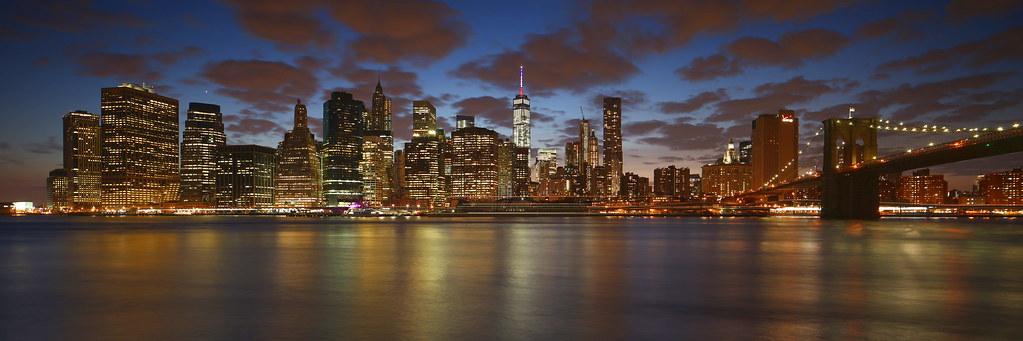 New York City Skyline Panoramic photo